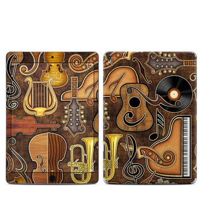 Apple iPad Pro 9.7 Skin - Music Elements