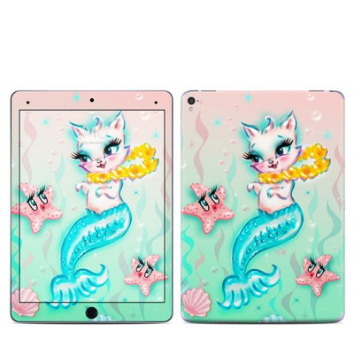 Apple iPad Pro 9.7 Skin - Merkitten with Lei