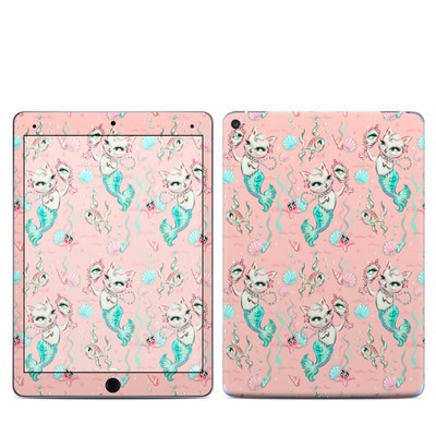 Apple iPad Pro 9.7 Skin - Merkittens with Pearls Blush