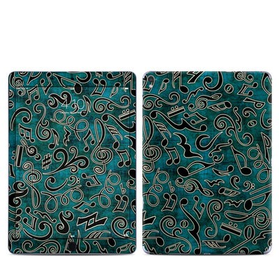 Apple iPad Pro 9.7 Skin - Music Notes