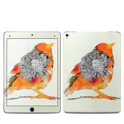 Apple iPad Pro 9.7 Skin - Orange Bird