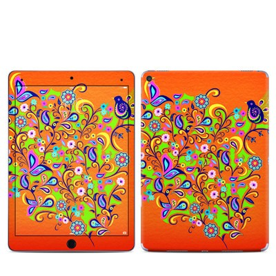 Apple iPad Pro 9.7 Skin - Orange Squirt