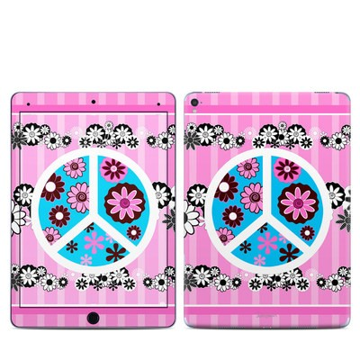Apple iPad Pro 9.7 Skin - Peace Flowers Pink