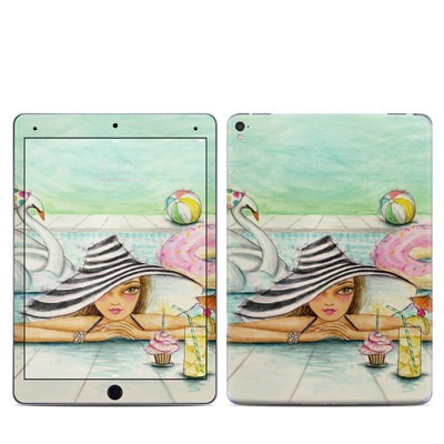 Apple iPad Pro 9.7 Skin - Delphine at the Pool Party