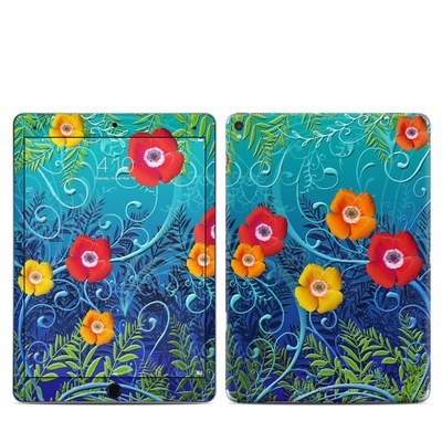 Apple iPad Pro 9.7 Skin - Poppies