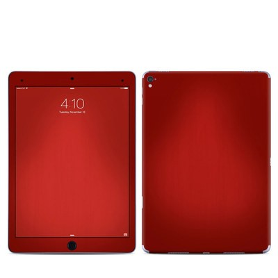 Apple iPad Pro 9.7 Skin - Red Burst