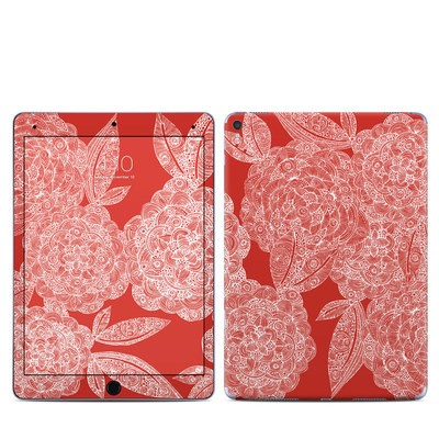 Apple iPad Pro 9.7 Skin - Red Dahlias