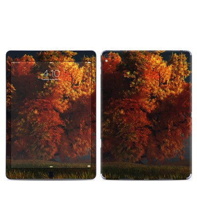 Apple iPad Pro 9.7 Skin - Red and Gold