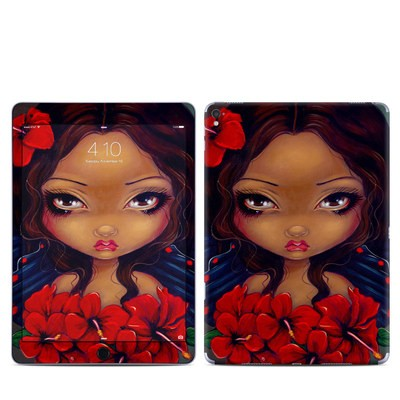Apple iPad Pro 9.7 Skin - Red Hibiscus Fairy