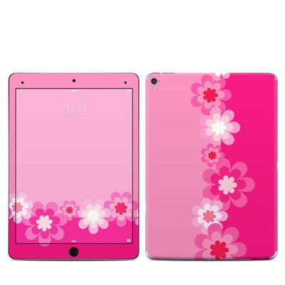 Apple iPad Pro 9.7 Skin - Retro Pink Flowers