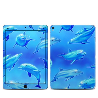 Apple iPad Pro 9.7 Skin - Swimming Dolphins