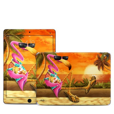 Apple iPad Pro 9.7 Skin - Sunset Flamingo