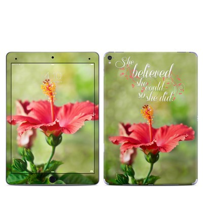 Apple iPad Pro 9.7 Skin - She Believed