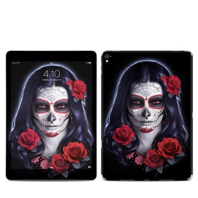 Apple iPad Pro 9.7 Skin - Sugar Skull Rose
