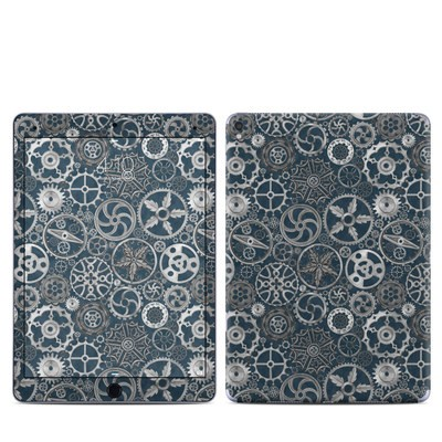 Apple iPad Pro 9.7 Skin - Silver Gears