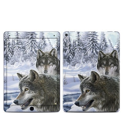 Apple iPad Pro 9.7 Skin - Snow Wolves