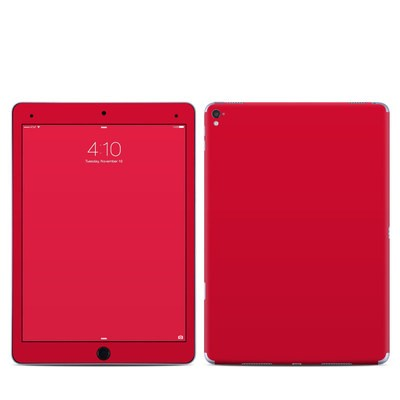 Apple iPad Pro 9.7 Skin - Solid State Red