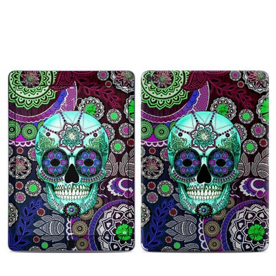 Apple iPad Pro 9.7 Skin - Sugar Skull Sombrero