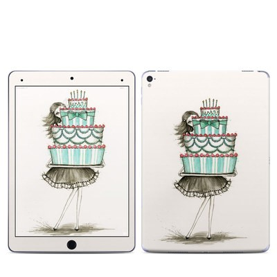 Apple iPad Pro 9.7 Skin - She Takes The Cake