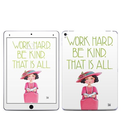 Apple iPad Pro 9.7 Skin - Work Hard