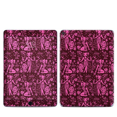 Apple iPad Pro 9.7 Skin - Tiki Temptress Hotpink