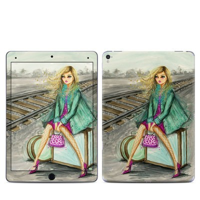 Apple iPad Pro 9.7 Skin - Lulu Waiting by the Train Tracks