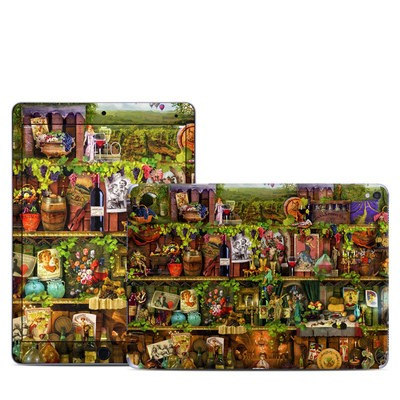Apple iPad Pro 9.7 Skin - Wine Shelf
