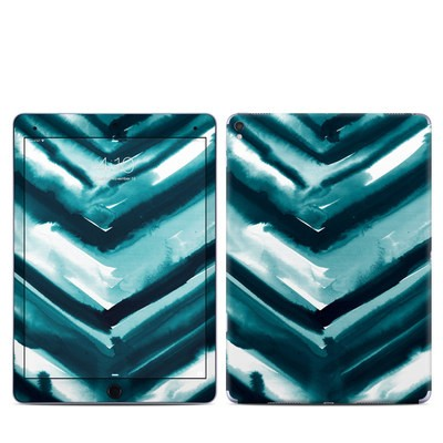 Apple iPad Pro 9.7 Skin - Watercolor Chevron