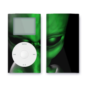 iPod mini Skin - Abduction