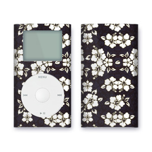 iPod mini Skin - Aloha Black