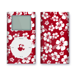 iPod mini Skin - Aloha Red