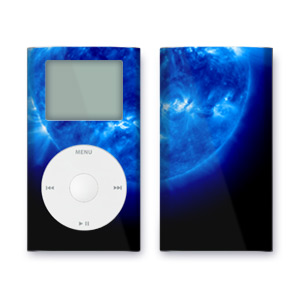 iPod mini Skin - Blue Giant