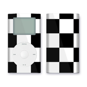 iPod mini Skin - Checkers