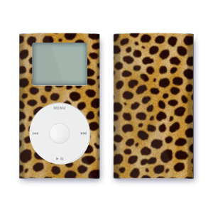 iPod mini Skin - Cheetah