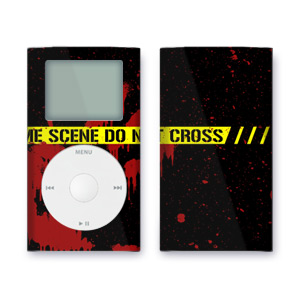 iPod mini Skin - Crime Scene