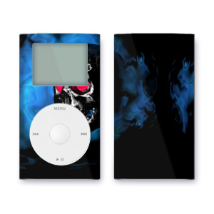 iPod mini Skin - Demon Skull