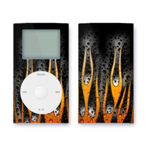 iPod mini Skin - Heat