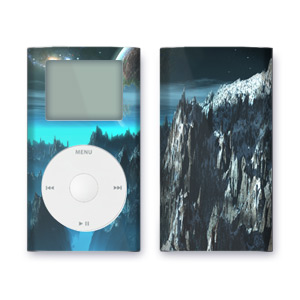 iPod mini Skin - Path to the Stars