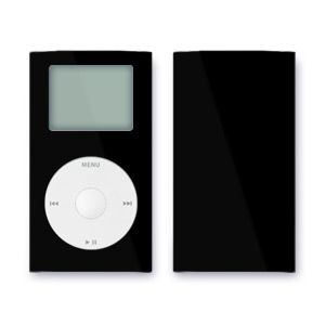 iPod mini Skin - Solid Black
