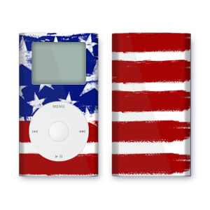 iPod mini Skin - Stars + Stripes