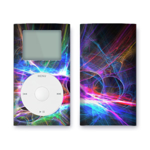 iPod mini Skin - Static Charge