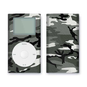 iPod mini Skin - Urban Camo