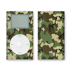 iPod mini Skin - Woodland Camo