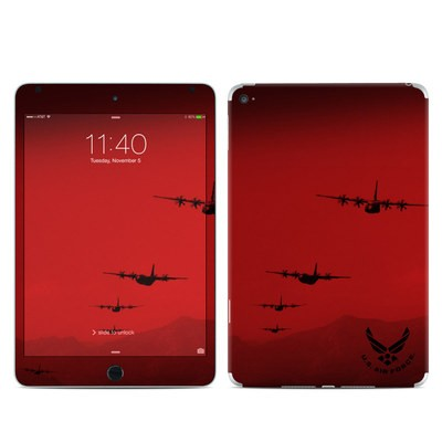 Apple iPad Mini 4 Skin - Air Traffic