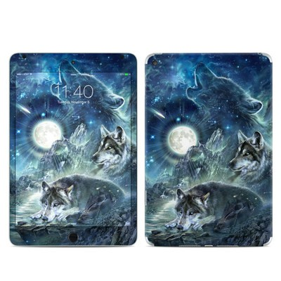Apple iPad Mini 4 Skin - Bark At The Moon