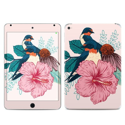 Apple iPad Mini 4 Skin - Barn Swallows