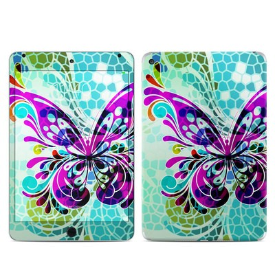 Apple iPad Mini 4 Skin - Butterfly Glass