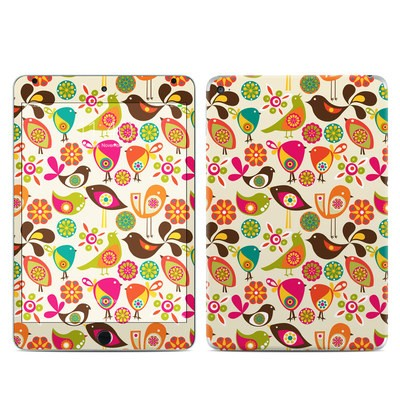 Apple iPad Mini 4 Skin - Bird Flowers