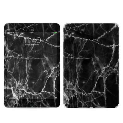 Apple iPad Mini 4 Skin - Black Marble