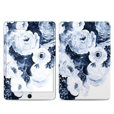 Apple iPad Mini 4 Skin - Blue Blooms